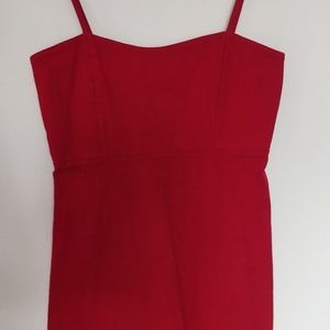 Brandy Melville red Karla dress RARE